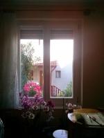 Szoba fa ablak