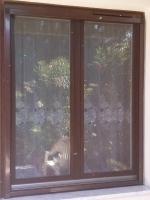 Szúnyoghálós fa ablak