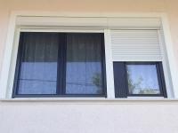 Tokosztós fa ablak