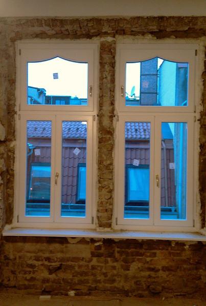 műemlék fa ablak