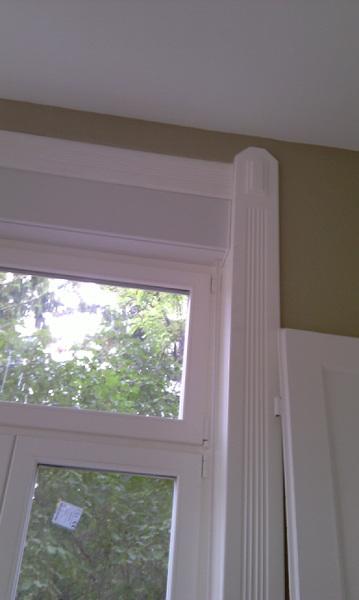 dísztakarás műemlék fa ablakcsere