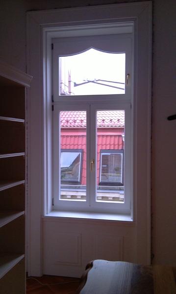 Polgári lakás ablakcsere